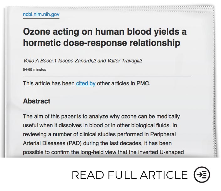 Ozone is Effective Therapy for Cardiac Disorders