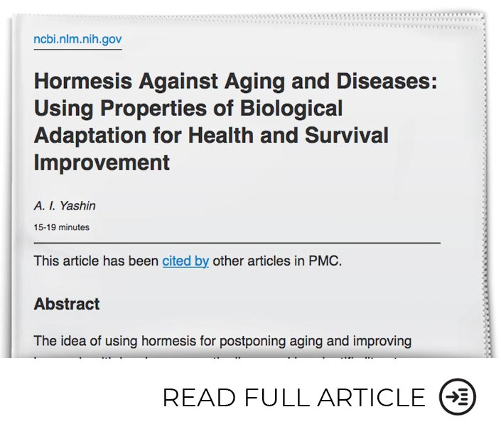Adapting to Physical and Environmental Challenges Combats Aging and Diseases